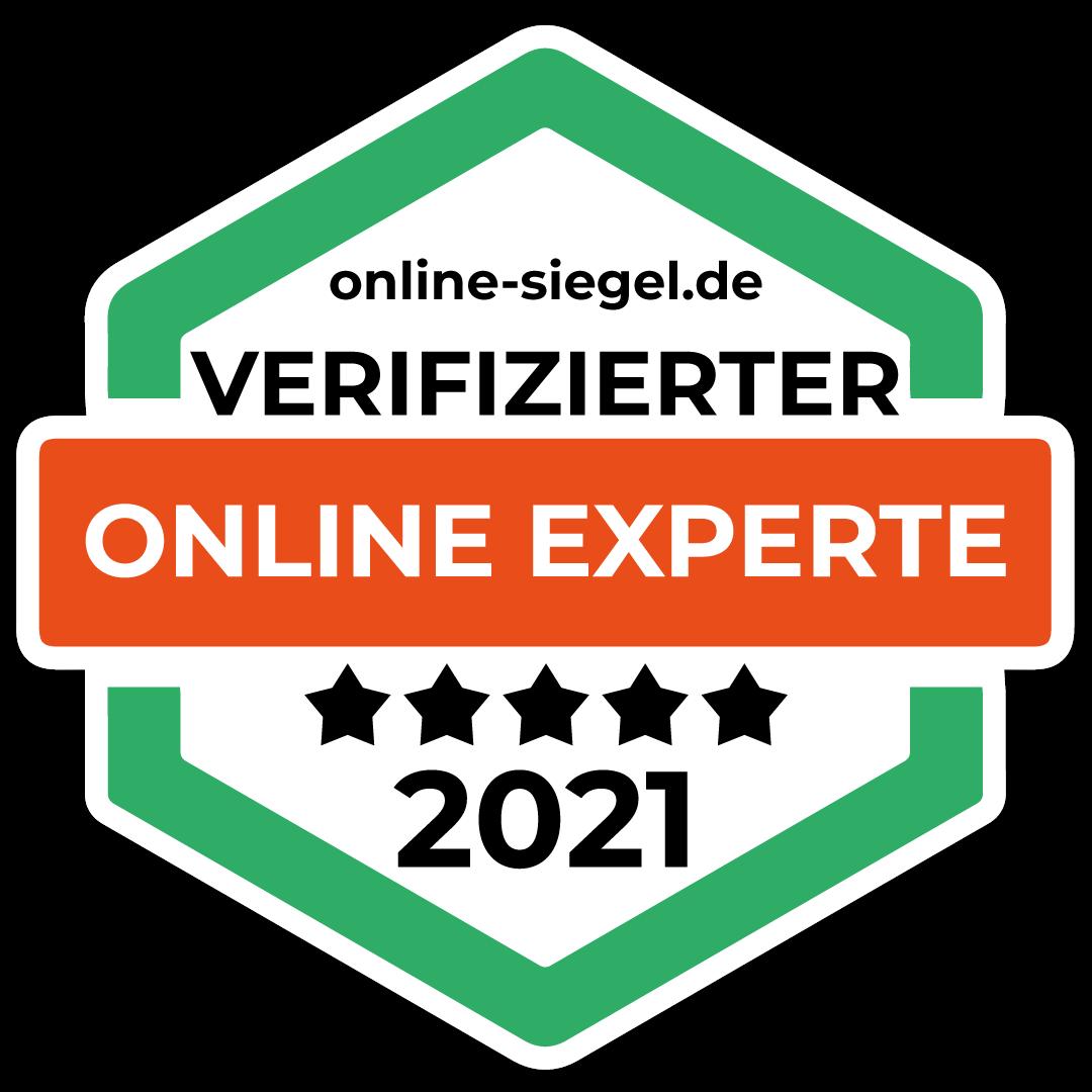 Das Online-Siegel 2021