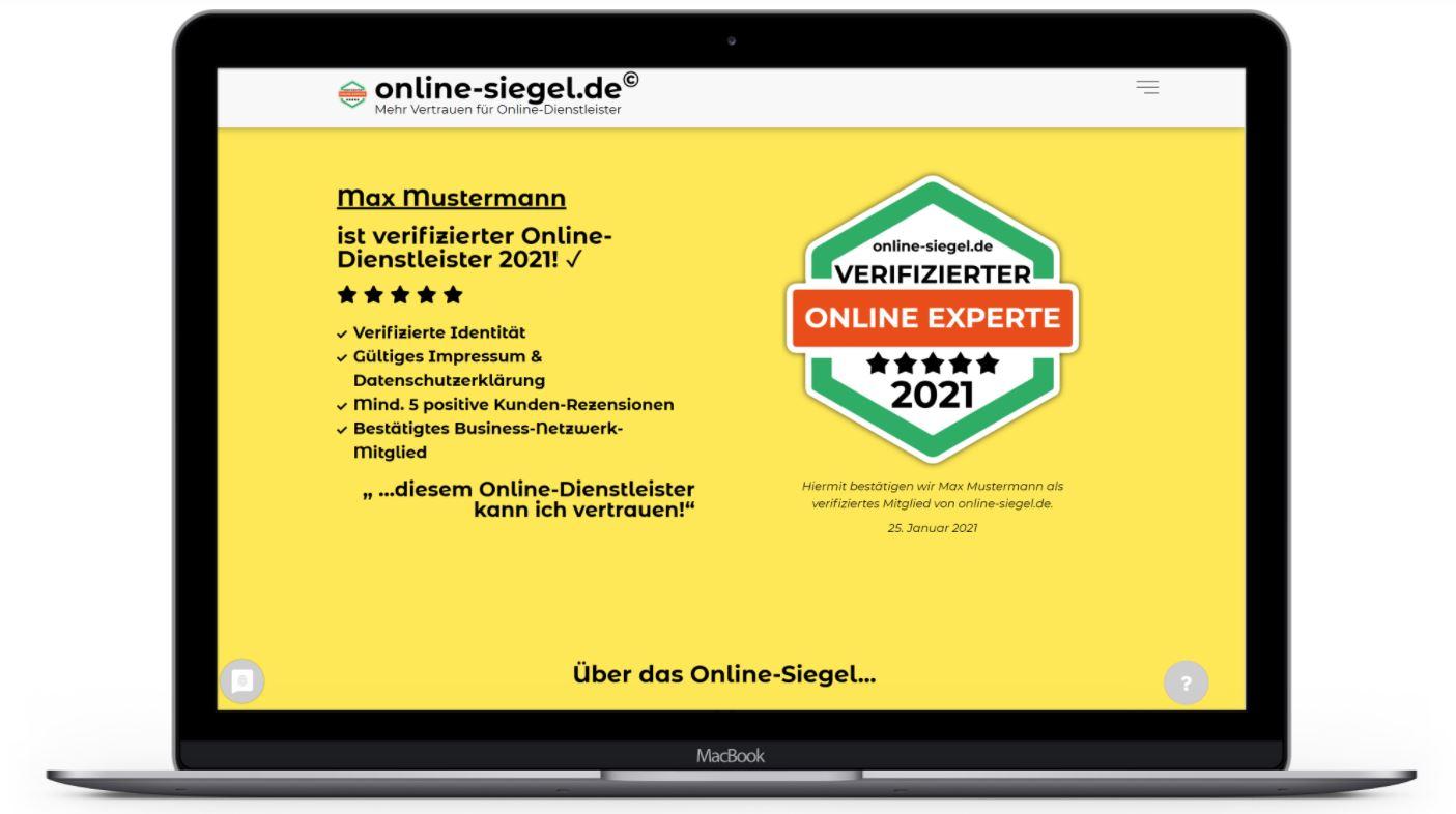 online-siegel mockup